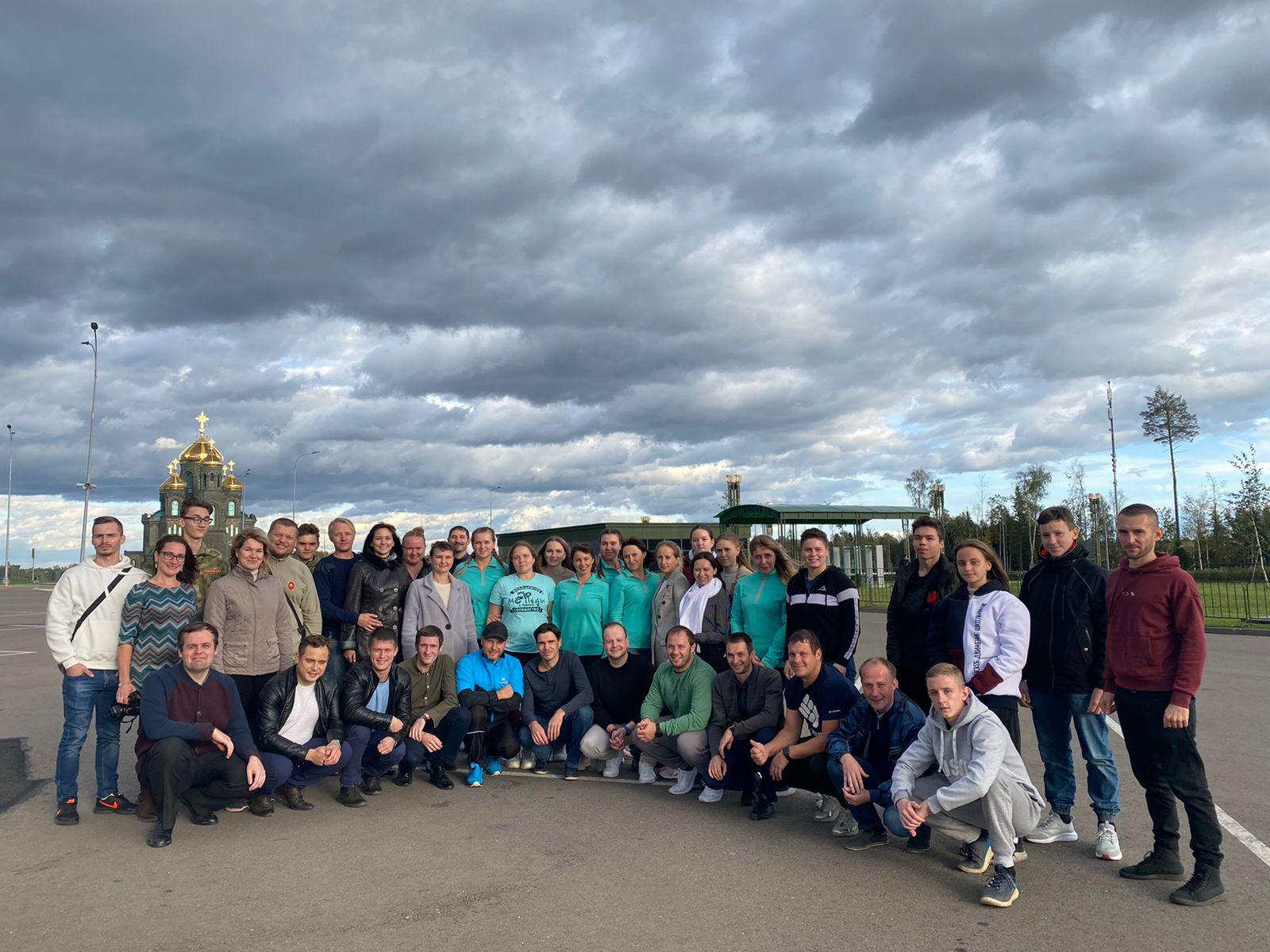 ФОТО: Активисты общественных патриотических организаций Рыбинска  посетили  Музей «Дорога памяти» и Главный Храм ВС РФ 14 сентября